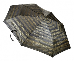 Deštník Anka Verlag Mini Umbrella Black/Gold