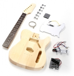Stavebnice Harley Benton Electric Guitar Kit T-Style