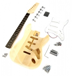 Stavebnice Harley Benton Electric Guitar Kit ST-Style