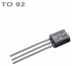 Tranzistor 2N5401 PNP 150V,0.6A,0.6W,100MHz TO-92